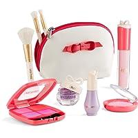 Litti Pritti Set De Semblant Maquillage Pour Les Filles - 9 Piece Kit De Maquillage Cosmétiques Play - Etui En Cuir D'Unité Centrale