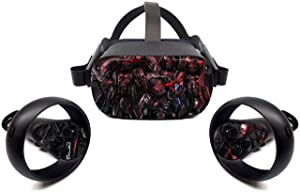 Oculus Quest Accessories Skins Invisible monsters VR Headset and Controller Decal Sticker Protective Tullia