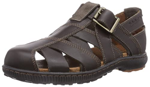 f4313b3d48b066 Timberland Hollbrook FTP_EK Hollbrook - Closed Toe Sandal, Sandali Uomo  Marrone Marrone Scuro (Dark
