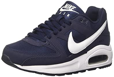 NIKE Air Max Command Flex (GS), Baskets garçon, Bleu (Obsidian/