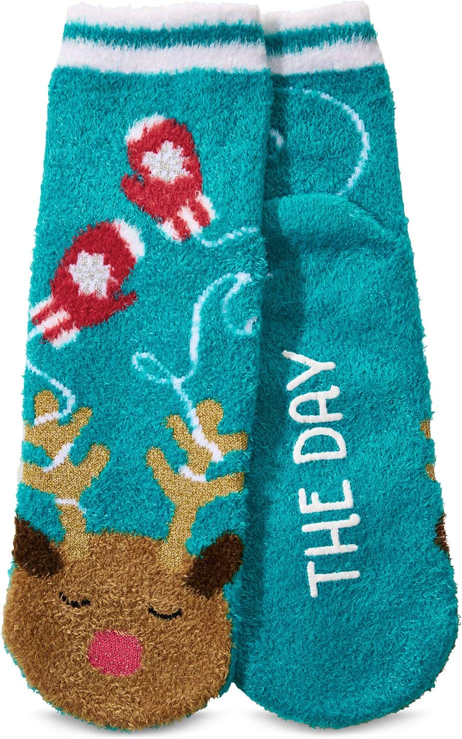 Bath and Body Works The Cozies Shea-Infused socks New RILEY the Reindeer