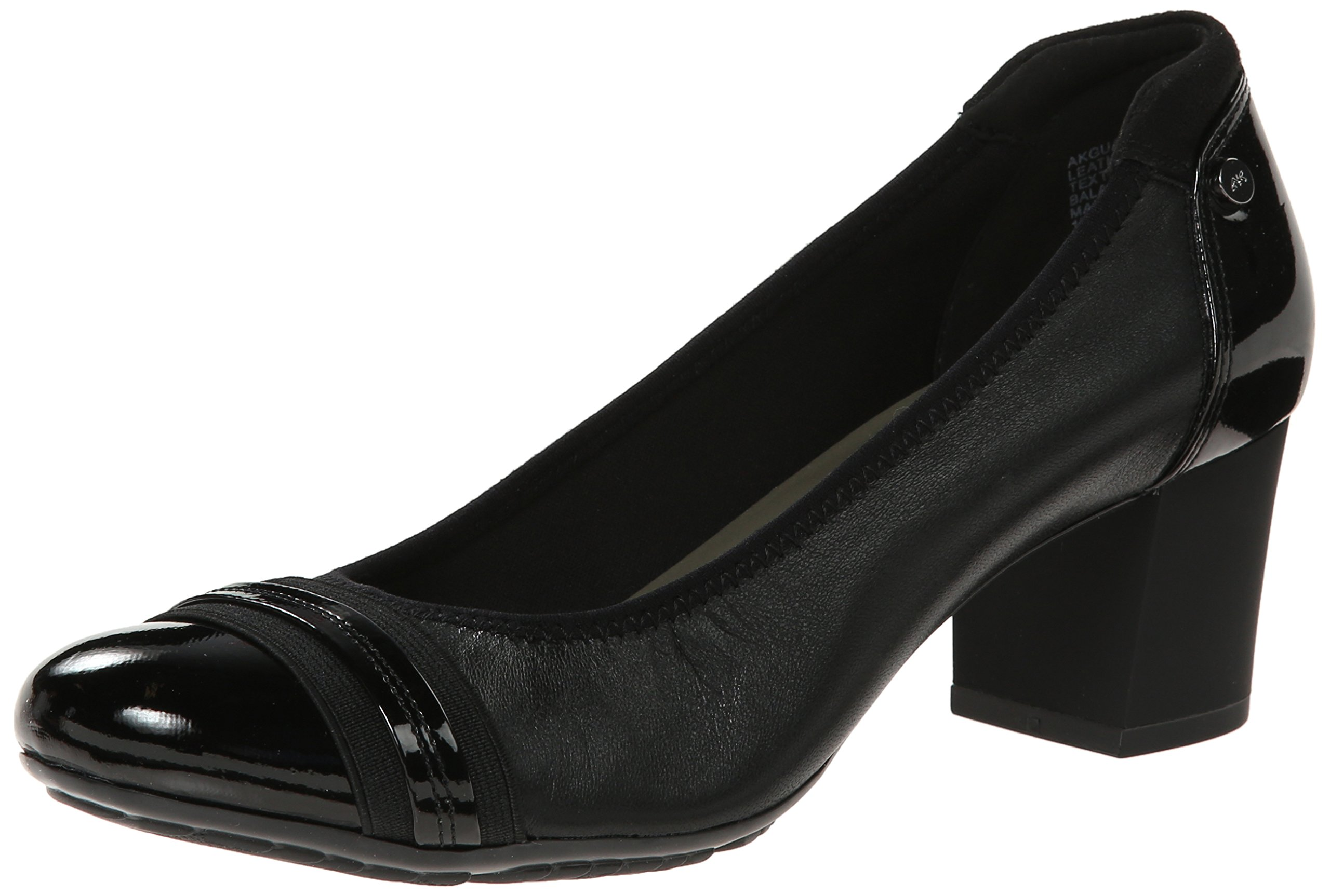 Anne Klein Sport Women's Guardian Leather Dress Pump, Black, 8 M US by Anne Klein