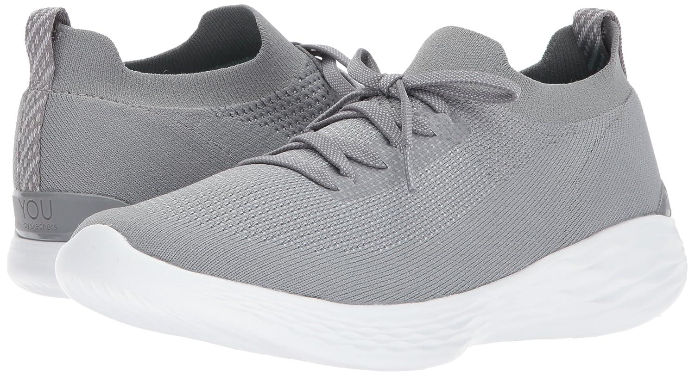 Skechers Women's B(M) You-Shine Sneaker B072MSWP31 12 B(M) Women's US Gray 9c2c22