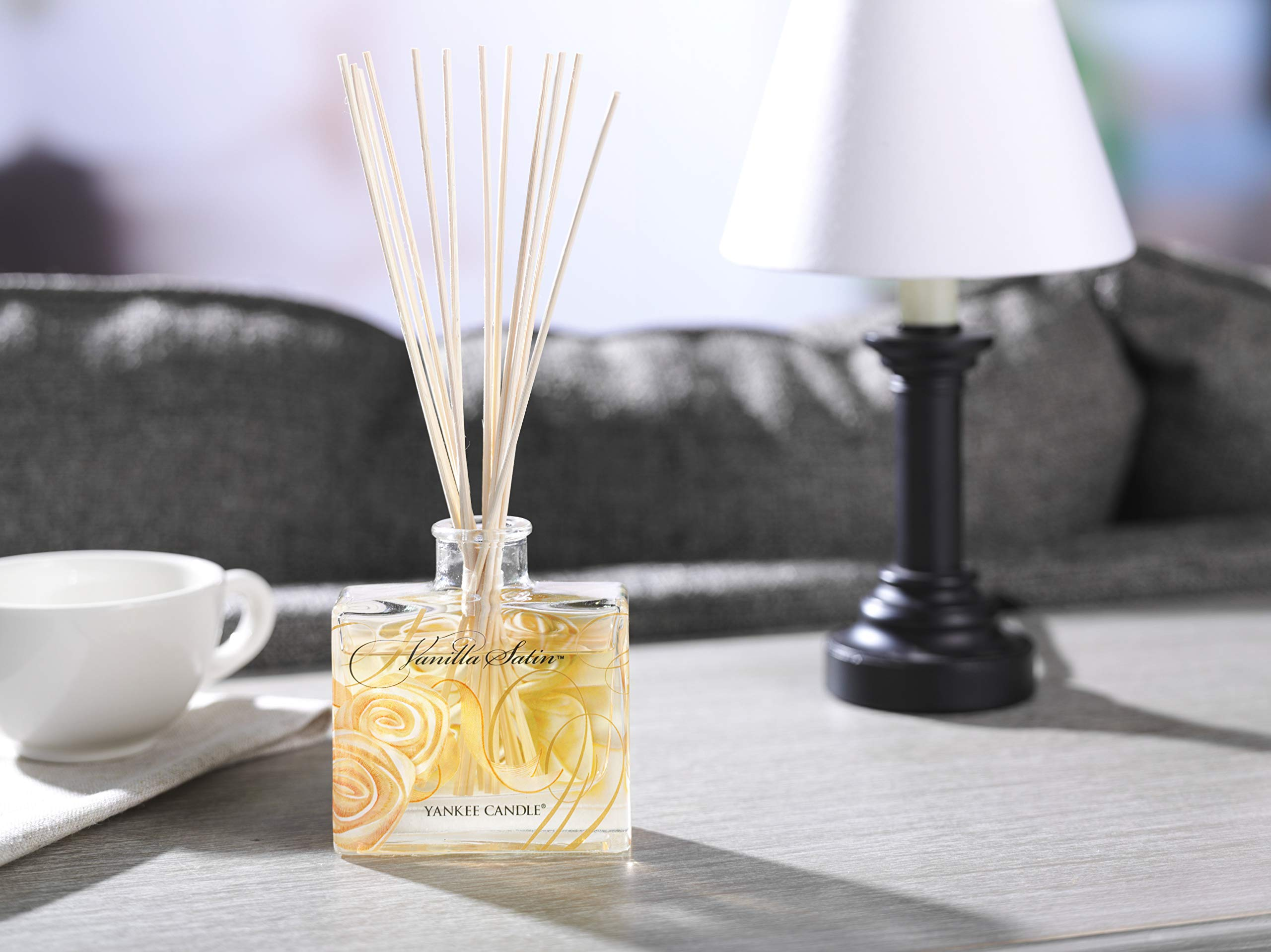 Yankee Candle ''Vanilla Satin Signature Reed Diffuser, White by Yankee Candle (Image #3)