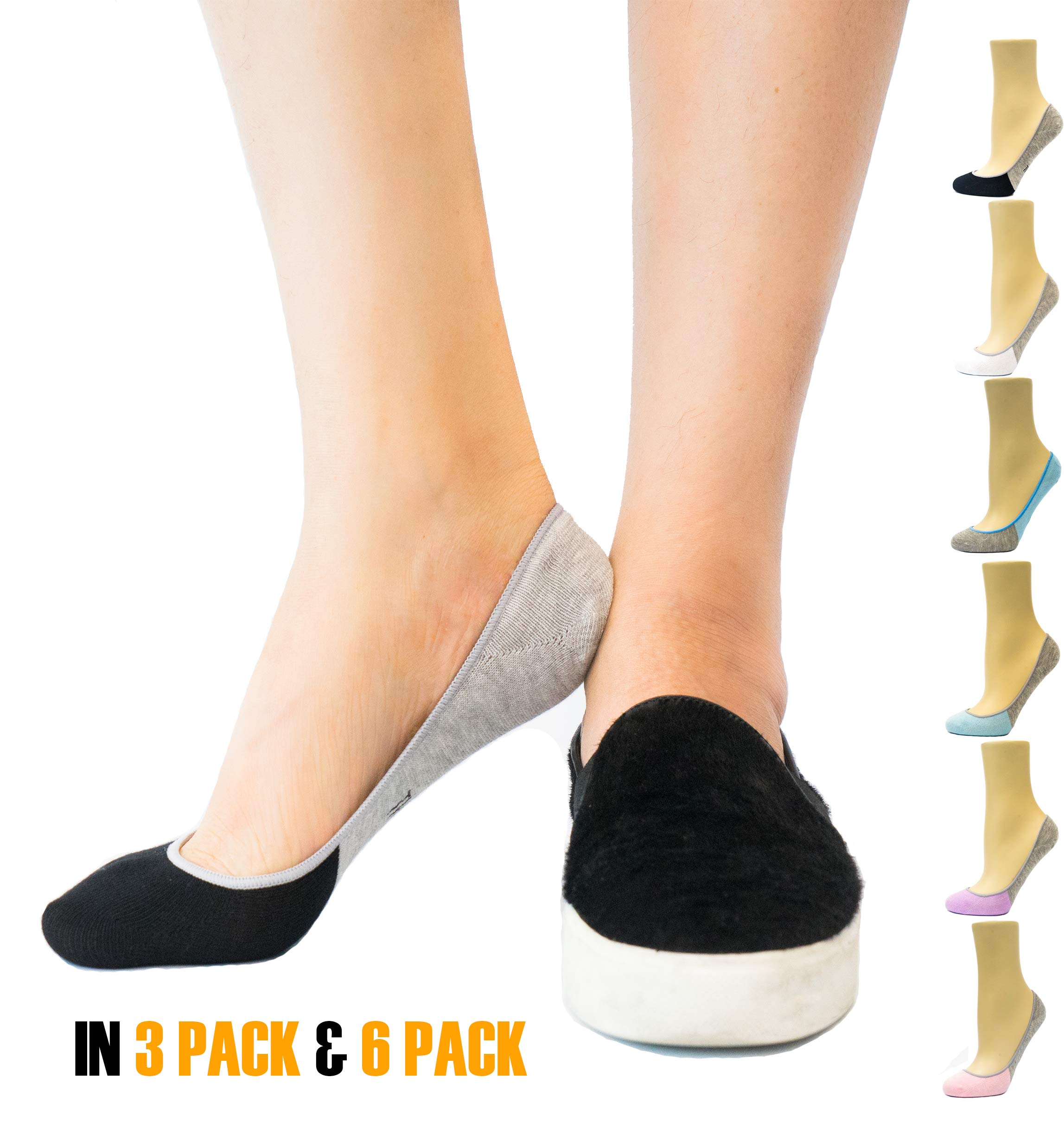 bfb4f4fecb01 Best Rated in Women s No Show   Liner Socks   Helpful Customer ...