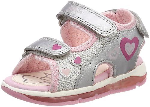 Geox B Sandal Todo A, Sandalias de Punta Descubierta para Bebés