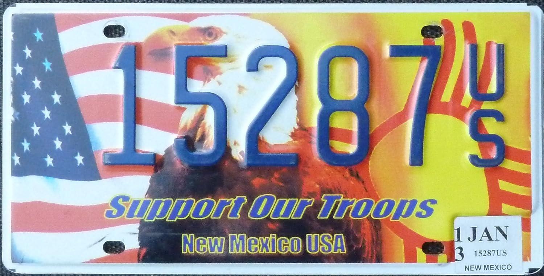 Autokennzeichen Usa Nummernschild New Mexico License Plate Blechschild Mit Motiv Auto