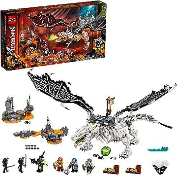 Ninjago TV Series Dragón del Brujo de los Muertos 2en1 Set de Construcción y Juego de Mesa con Figuras del Ejército Esqueleto, multicolor (Lego ES 71721): Amazon.es: Juguetes y juegos