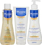 Mustela Bathtime Gift Set, Baby Skin Care Available for Normal, Dry, Sensitive or Eczema Prone Skin