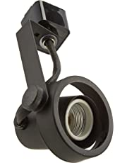 Nuvo Lighting TH221 Par20 Gimbal Ring Track Head, Black