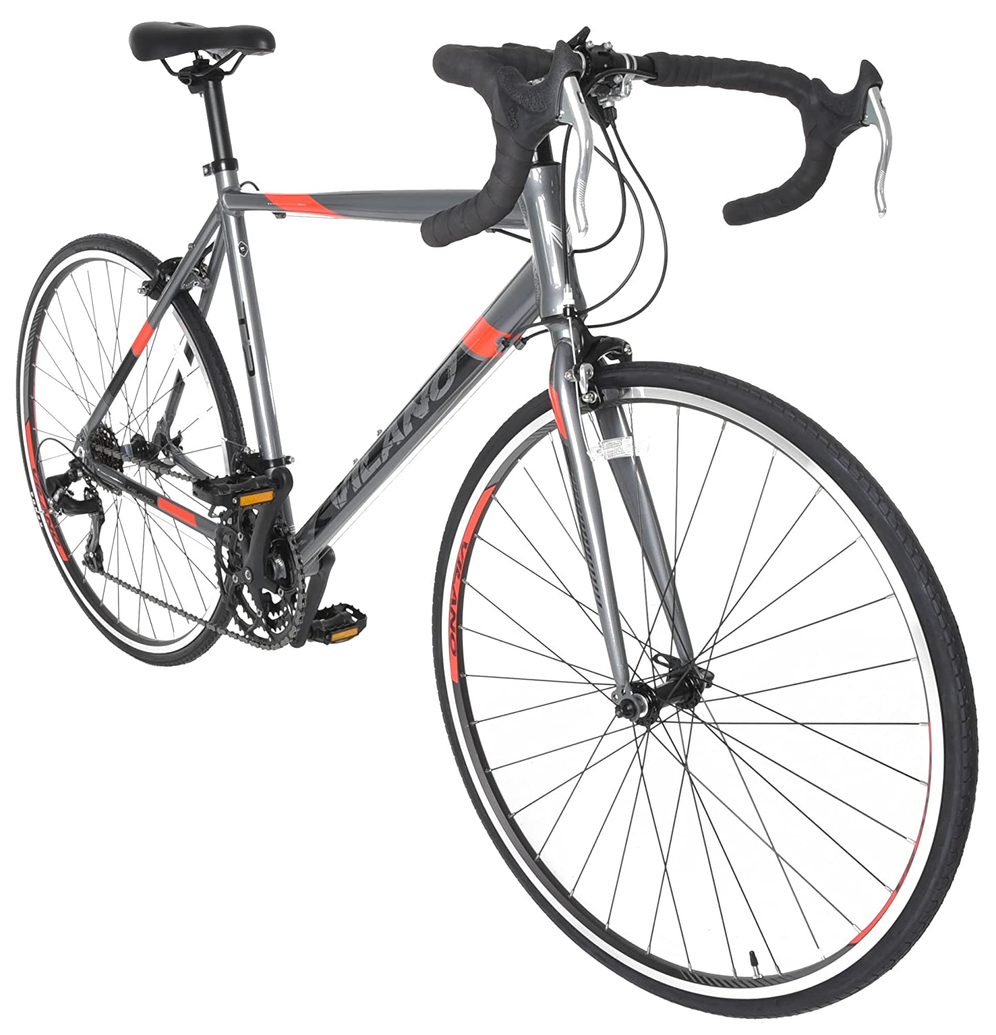 Vilano Tuono 2.0 Aluminum Road Bike Best Touring Bikes Under $500