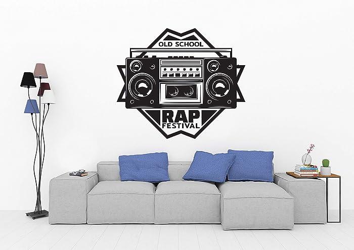 Amazon Com Rap Studio Recording Studio Music Wall Stickers Rooms
