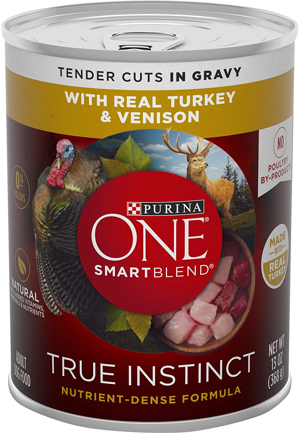 Purina ONE SmartBlend True Instinct Adult Canned Wet Dog Food