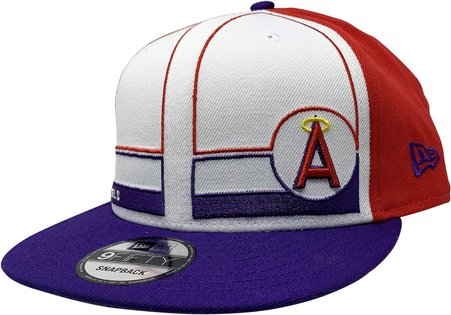 LOS ANGELES ANGELS OF ANAHEIM BASEBALL Hat Cap Snap Back Mesh 1961 Promotional