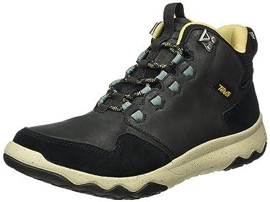 Teva Men's M Arrowood Lux Mid Waterproof Hiking Boot, Black, ...