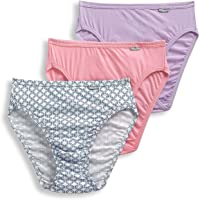 be01c9821 Jockey Women s Underwear Plus Size Elance French Cut - 3 Pack