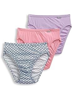 cdc37271f1e Amazon.com  Jockey Women s Underwear Plus Size Elance French Cut - 6 ...