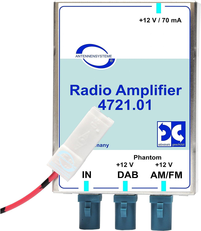 tomzz Audio 1500-038 Fakra F Antennenadapter Kupplung auf SMB F Kupplung
