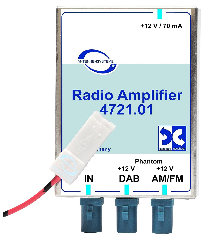 Radio numé rique DAB voiture Amplificateur ABB Bad Blankenburg GmbH 4721.01