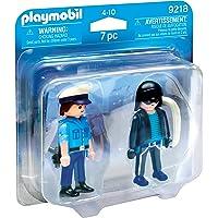 PLAYMOBIL Duo Pack-9218 Policía y Ladrón, Multicolor, única