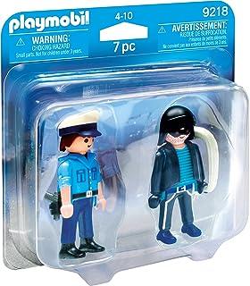 Playmobil 9218 Policeman and Burglar Building Set