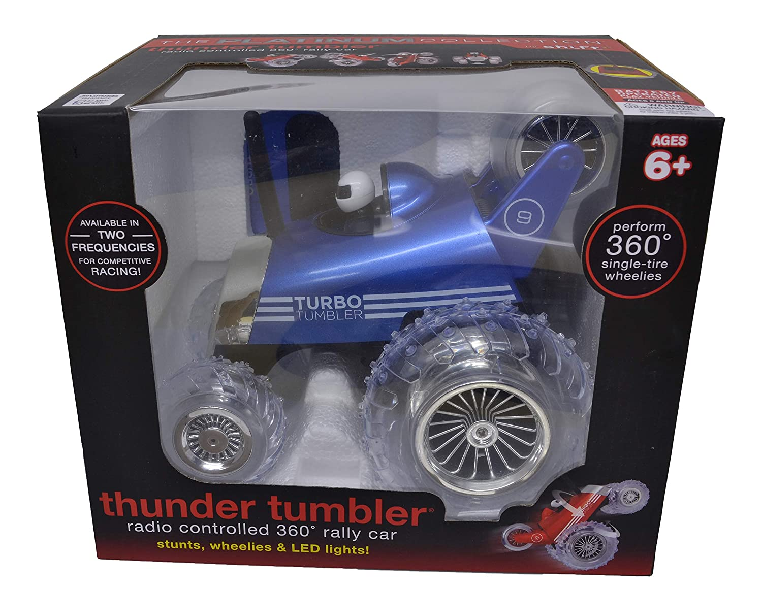 Amazon.com: The Platinum Collection By Shift Rc Turbo Tumbler Car (Blue): Clothing