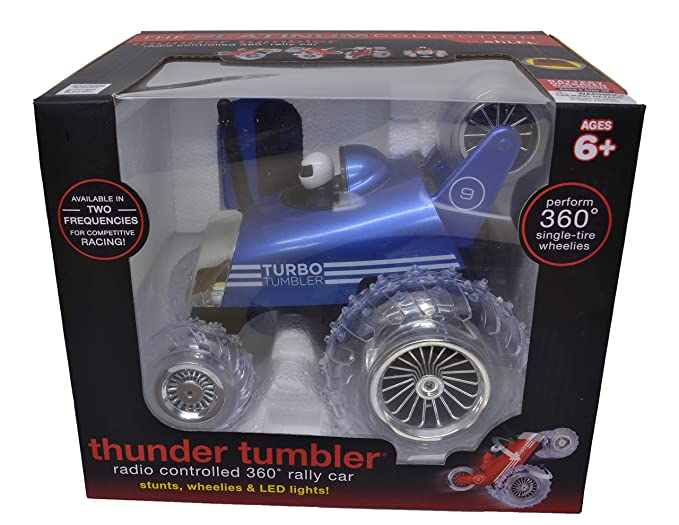 The Platinum Collection By Shift Rc Turbo Tumbler Car (Blue)
