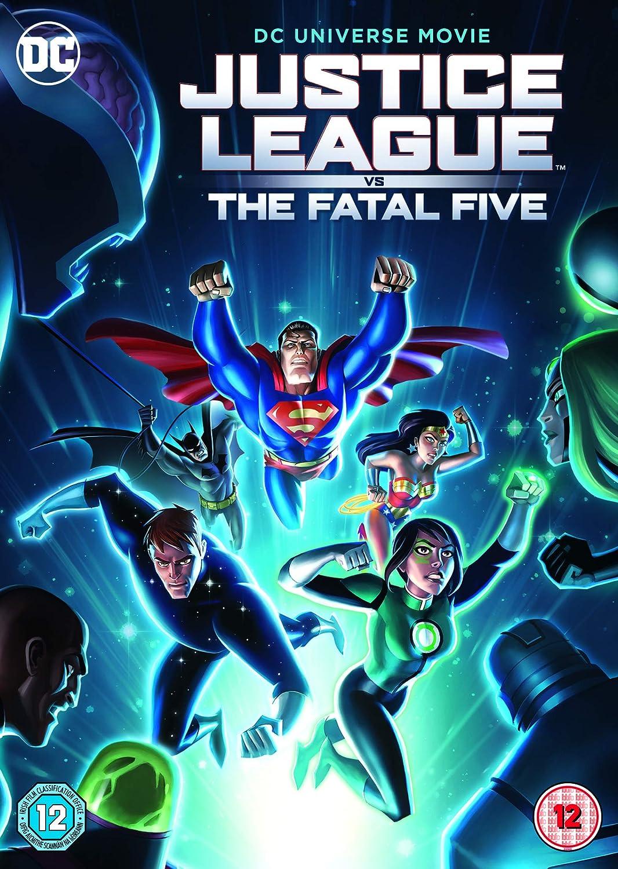 Justice League: Fatal Five Edizione: Regno Unito Italia DVD ...
