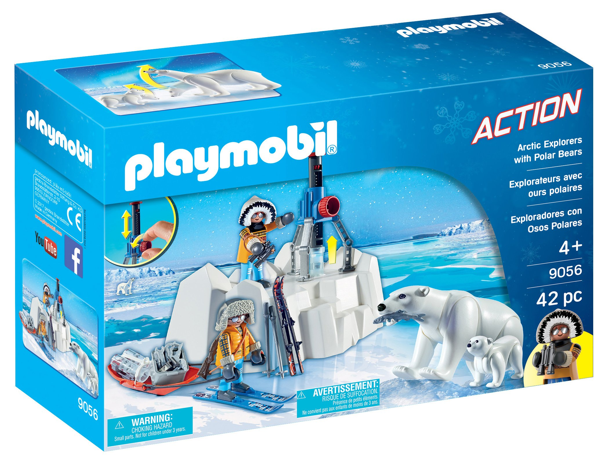 Playmobil 9056 Arctic Explorers with Polar Bears