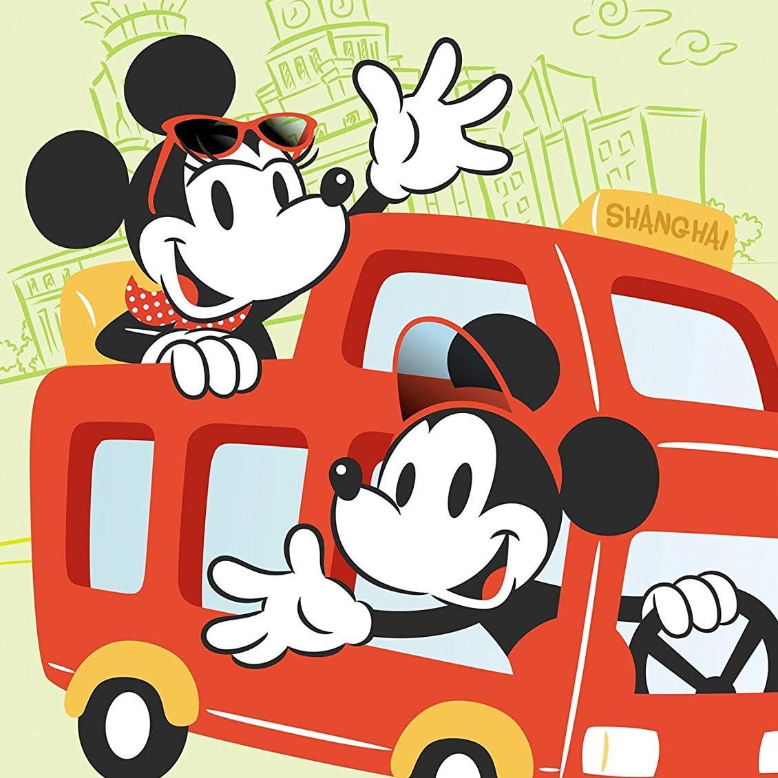 ディズニー Ipad壁紙 ドライブ中のミッキー ミニー アニメ スマホ用