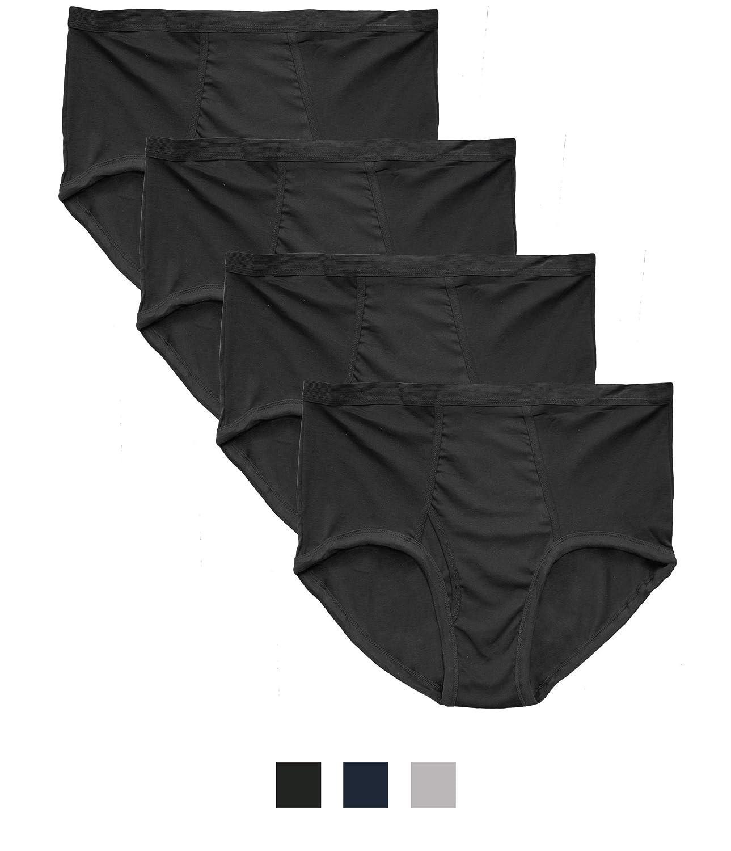 Players Big Men's Cotton Briefs Underwear 4-Pack