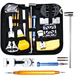 Baban 147pcs Watch Repair Tool Kit Professional Tool Kit Watch Back Case Holder Opener Link Remover Spring Bar Watchmaker Tool Kit With Carrying Case