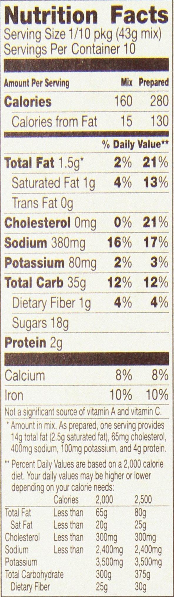 Betty Crocker Super Moist Cake Mix Dark Chocolate 15.25 oz Box (pack of 6) by Betty Crocker (Image #2)