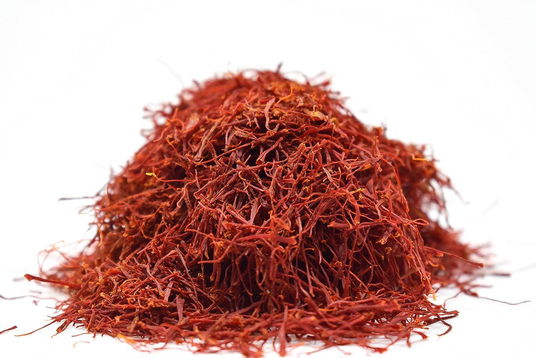 Persian Saffron Threads by Slofoodgroup Premium Quality Saffron Threads, All Red Saffron Filaments (various sizes) Grade I Saffron (1 Gram Saffron)