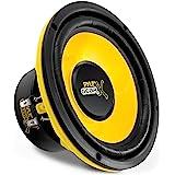 Pyle 6.5 Inch Mid Bass Woofer Sound Speaker System - Pro Loud Range Audio 300 Watt Peak Power w/ 4 Ohm Impedance and 60-20KHz