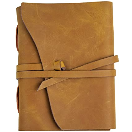 79a5726164a0 Amazon.com  RICCO BELLO Artista Handmade Genuine Leather Journal ...