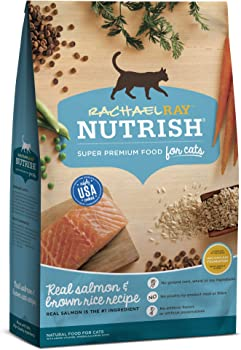Rachael Ray Nutrish Super Premium Dry Cat Food with Real Meat & Brown Rice   Amazon's Choice
