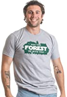 May the Forest be with You | Hiking, Nature, Outdoors, Camping Unisex T-shirt
