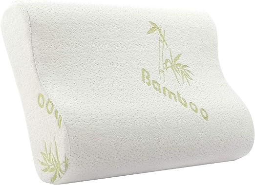 Amazon Com Tempcore Bamboo Memory Foam Pillow Contoured Support