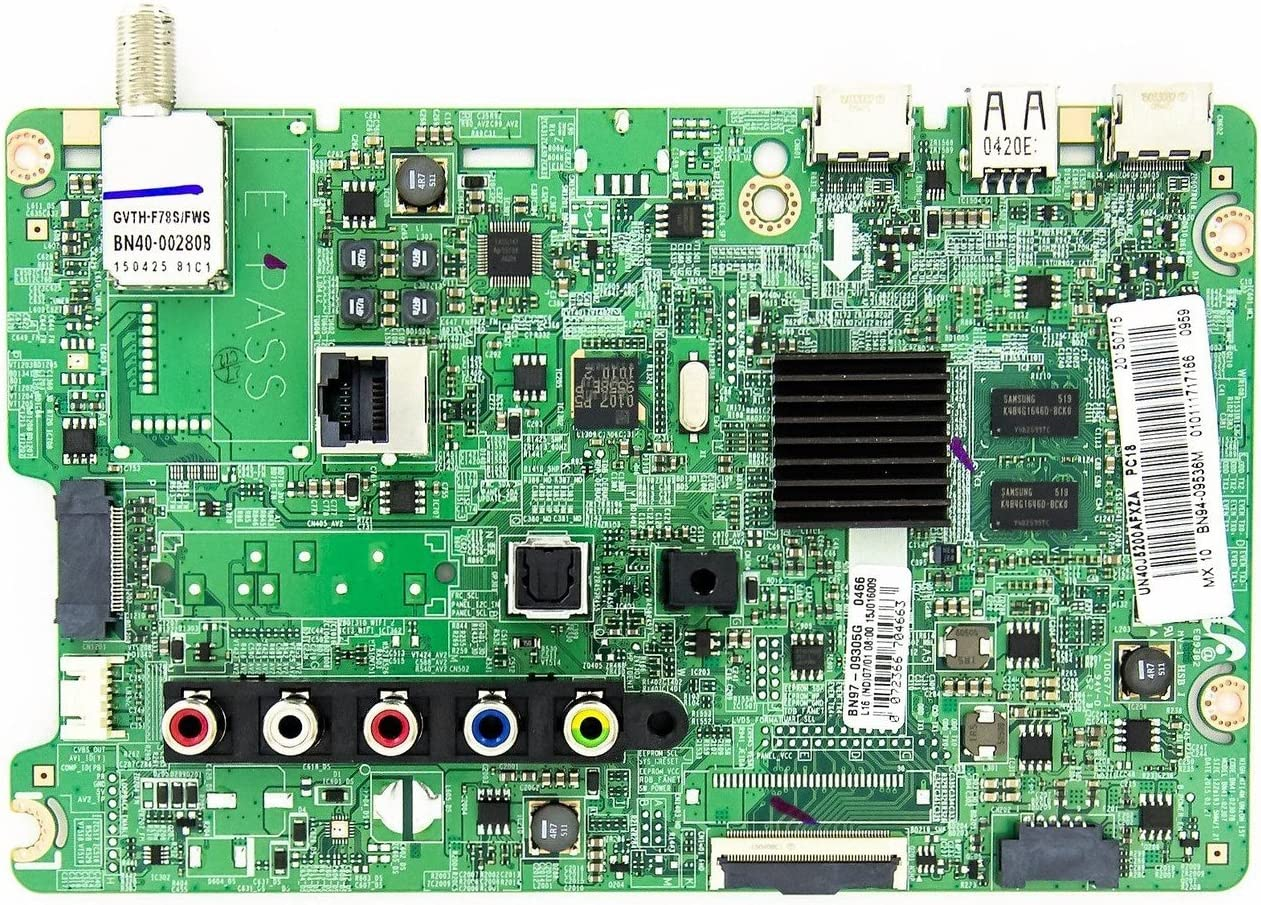 Samsung BN94-09536M Main Board for UN40J5200AFZA