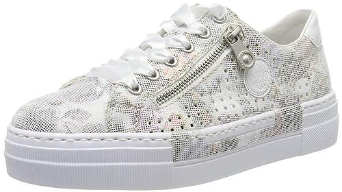 Geschäft Rabatt offizielle Bilder Rieker Damen N49c4-91 Sneaker