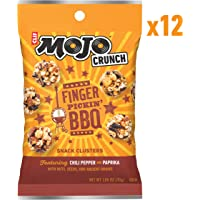 12-Count CLIF Bar Mojo Crunch Clusters, 1.06 Ounce Pouch (Fingerpickin' Barbeque)