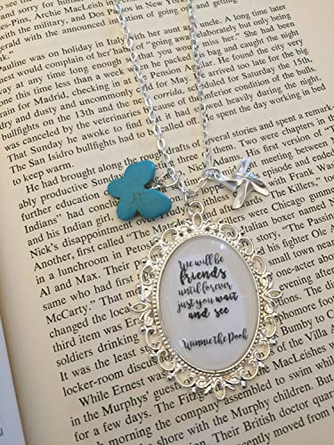 Amazon Friendship Necklace Best Friend Necklace Winnie The Fascinating Winnie The Pooh Quote About Friendship