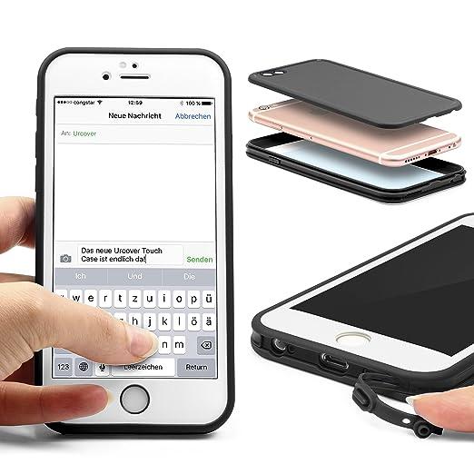 9 opinioni per URCOVER Custodia Full Body Apple iPhone 6 / 6s | Touch Cover Integrale Fronte