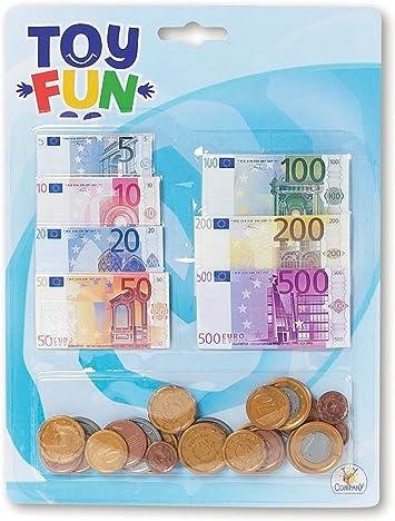 The Toy Company Troll 10004 - Billetes y Monedas para Jugar: Amazon.es: Juguetes y juegos