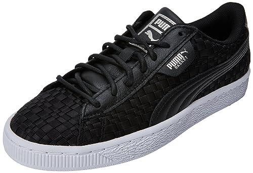 Puma Basket Satin EP Wns Zapatillas para Mujer, Negro Black White, ...