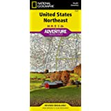 United States, Northeast (National Geographic Adventure Map, 3127)