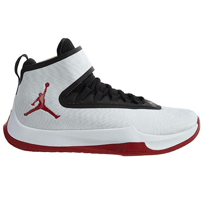 online store 955e6 446cb Amazon.com   Jordan Fly Unlimited Men s Basketball Shoes White Gym Red-Black  aa1282-101 (9 D(M) US)   Basketball