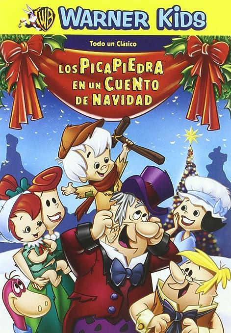 Los picapiedra: Un cuento de Navidad [DVD]: Amazon.es