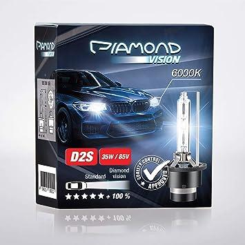 2x D2s 35w 85v 6000k Diamond Vision Hid Bi Xenon Brenner Whitevision White Weiß Super Extrem Hell Laser Kit Nightbreaker Extreme Vision Ultra Blue Hyper Duobox Gasentladungslampe P32d 2 Auto
